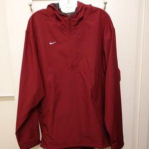 Nike Running Windbreaker Anorak - Red